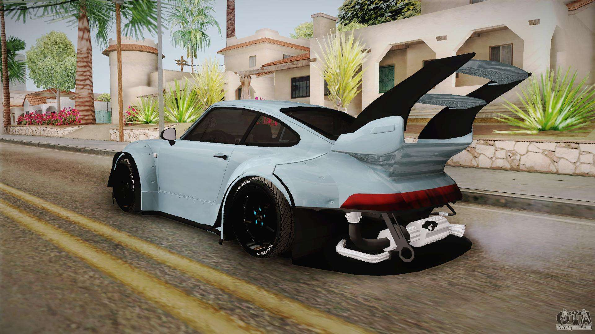 porsche 993 rwb rotana for gta san andreas. Black Bedroom Furniture Sets. Home Design Ideas