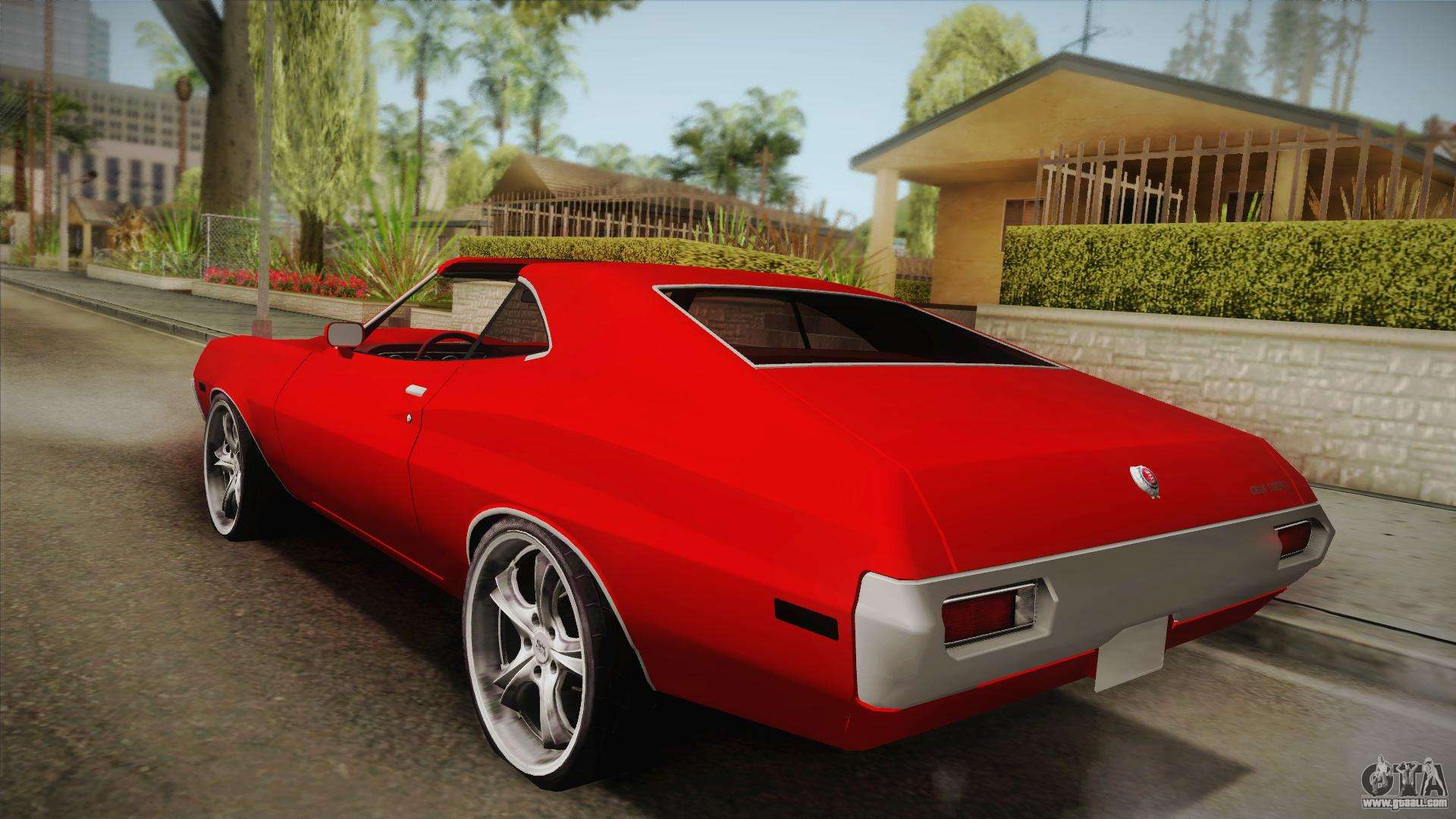 ford gran torino 1972 for gta san andreas. Black Bedroom Furniture Sets. Home Design Ideas