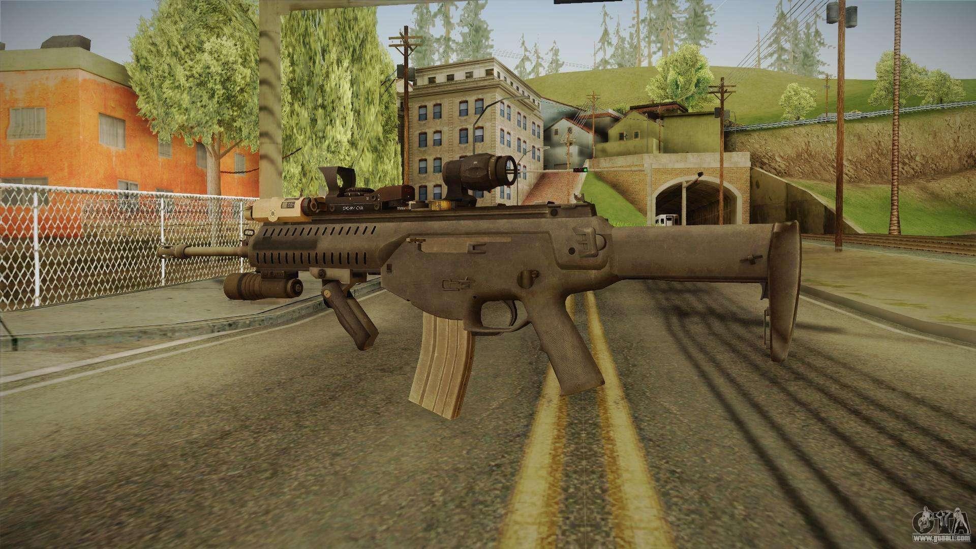 ARX-160 Tactical Expert for GTA San Andreas