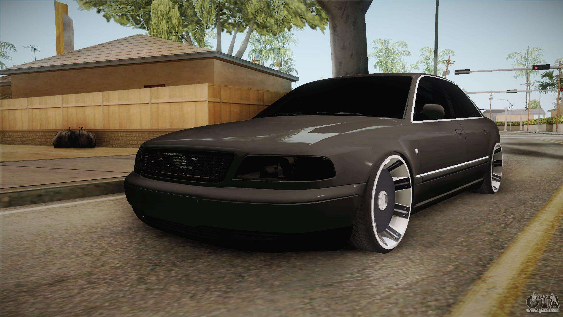 audi a8 s8 d2 lowstance for gta san andreas. Black Bedroom Furniture Sets. Home Design Ideas