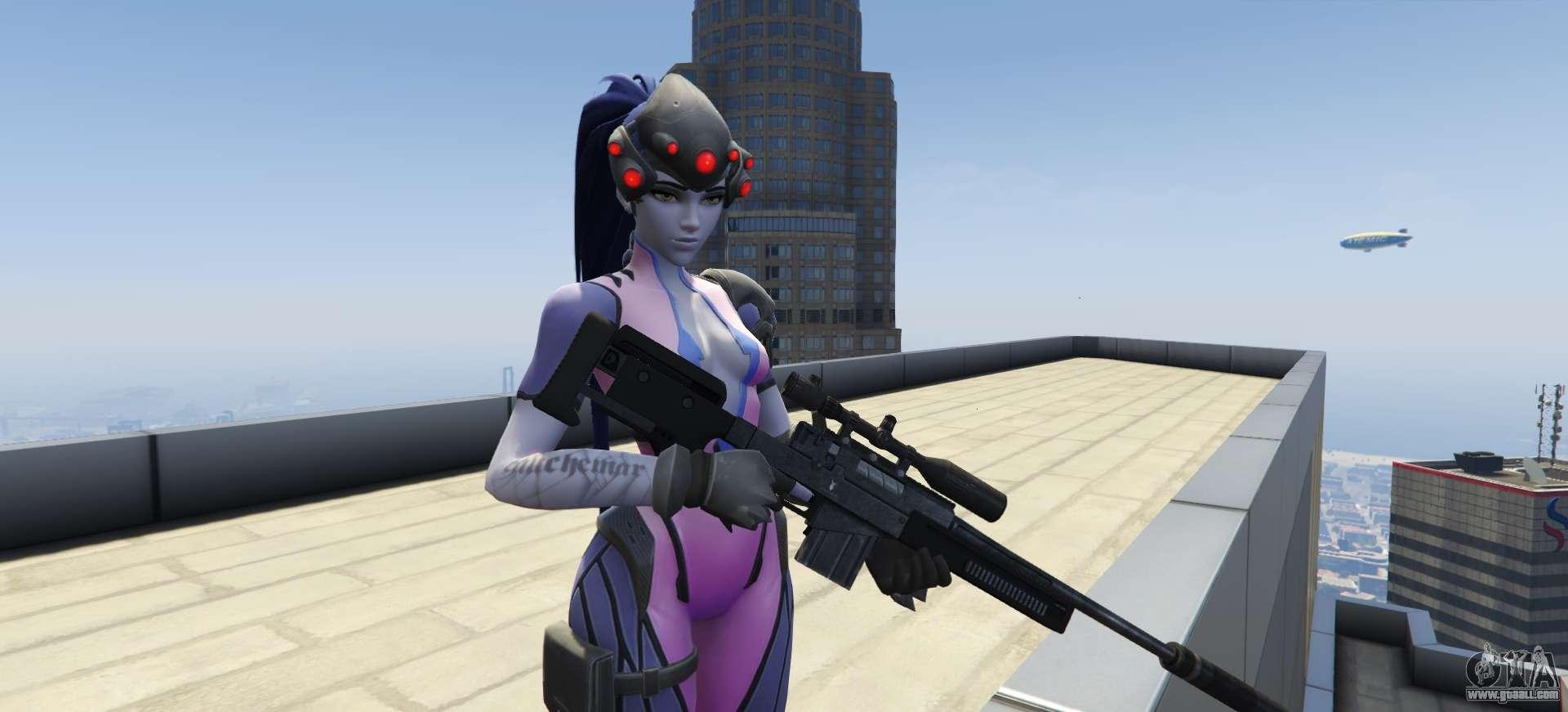 Widowmaker Overwatch for GTA 5