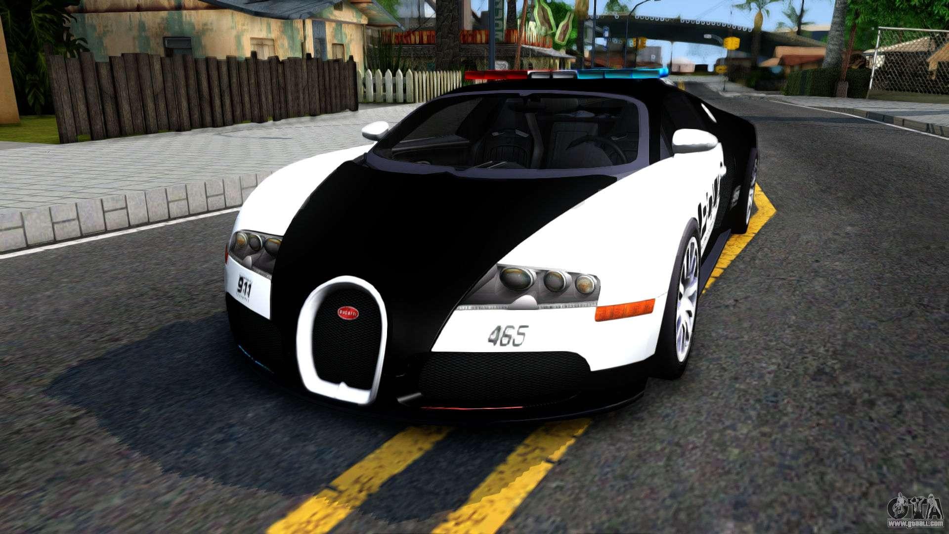 bugatti veyron nfs hp police for gta san andreas. Black Bedroom Furniture Sets. Home Design Ideas