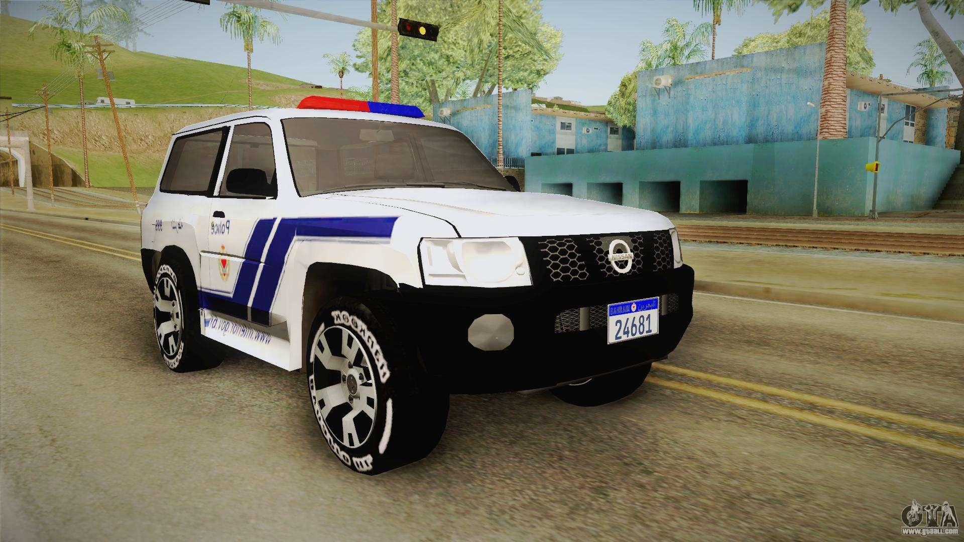 Nissan Patrol for GTA San Andreas
