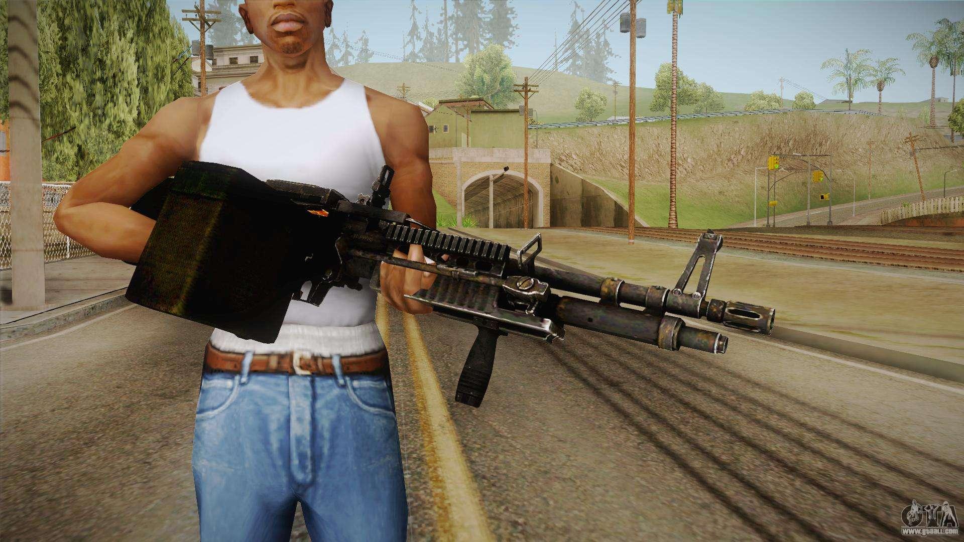 M60 machine gun for gta san andreas for Schreibtisch 1 60 m