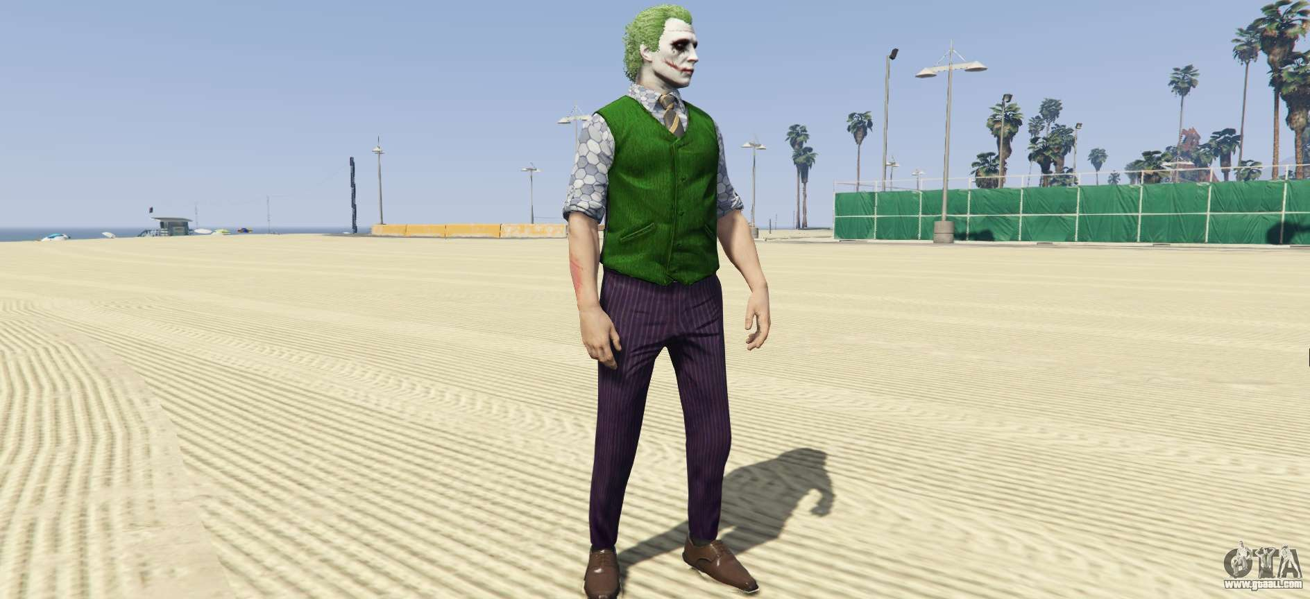 Heath Ledger Joker Skin Pack 3 0 For Gta 5
