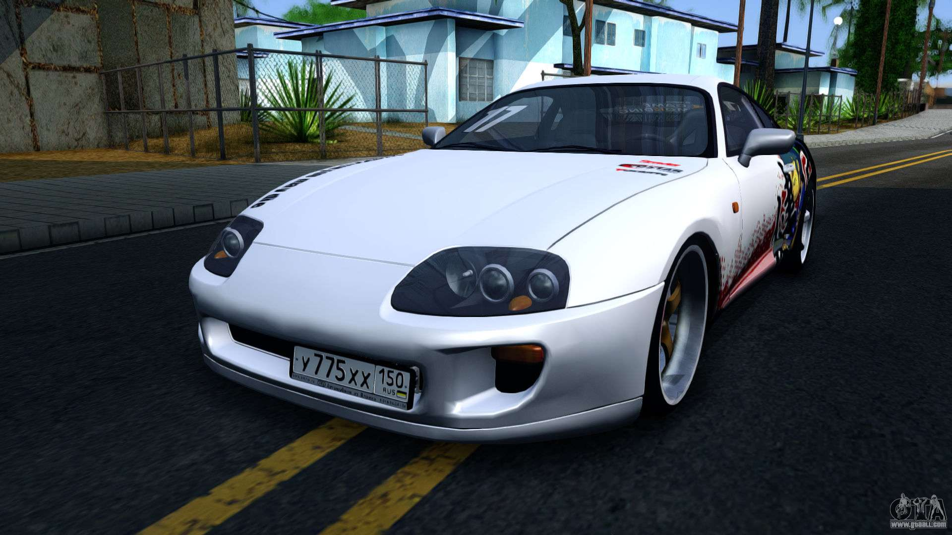 toyota supra drift for gta san andreas. Black Bedroom Furniture Sets. Home Design Ideas
