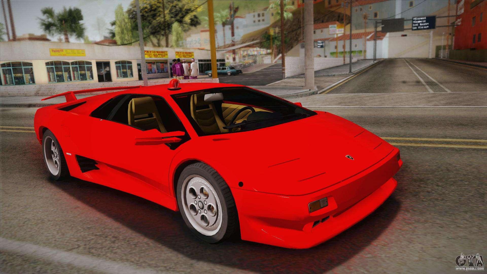 Lamborghini Diablo for GTA San Andreas on ducati diablo, honda diablo, maserati diablo, chrysler diablo, isuzu diablo, murcielago diablo, bugatti diablo, gmc diablo, ferrari diablo, orange diablo, blue diablo, cadillac diablo, strosek diablo, toyota diablo, el diablo,