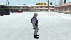 Winter Skin (Army) 1.1 for GTA San Andreas