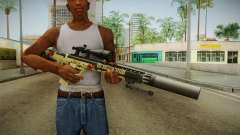 DesertTech Weapon 1 Camo Silenced for GTA San Andreas