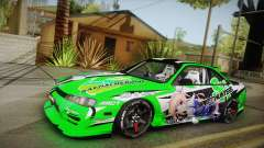 Nissan Silvia S14 Drift Speedhunters Saekano for GTA San Andreas