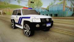 Nissan Patrol Y61 Police for GTA San Andreas