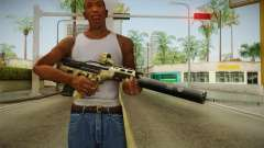 DesertTech Weapon 2 Camo Silenced for GTA San Andreas