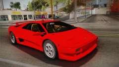 Lamborghini Diablo VT FBI 1995 for GTA San Andreas