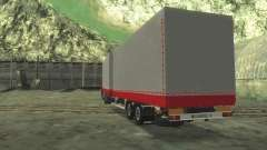 Trailer Chereau for MAN F2000