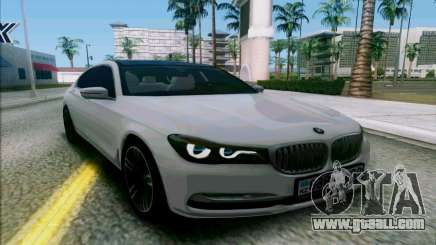 BMW 7 for GTA San Andreas