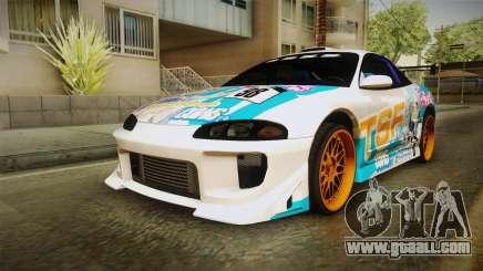 Mitsubishi Eclipse Tachibana Sylphynford Itasha for GTA San Andreas
