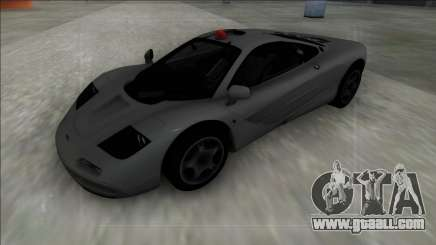 McLaren F1 FBI for GTA San Andreas
