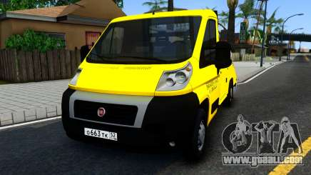 Fiat Ducato Evacuator for GTA San Andreas