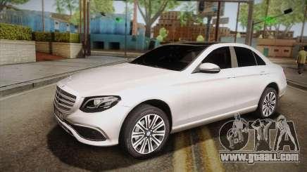Mercedes-Benz E350e 2016 for GTA San Andreas