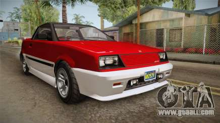 GTA 5 Dinka Blista Cabrio IVF for GTA San Andreas