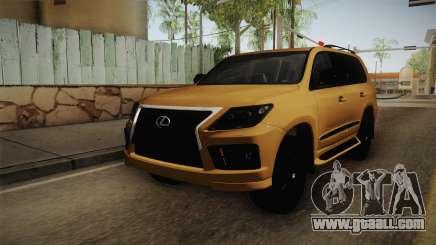 Lexus LX570 S for GTA San Andreas