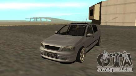 Opel Astra G Armenian for GTA San Andreas