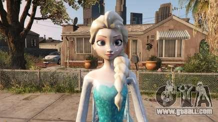 Elsa from Frozen for GTA 5