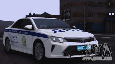 Toyota Camry for traffic police for GTA San Andreas