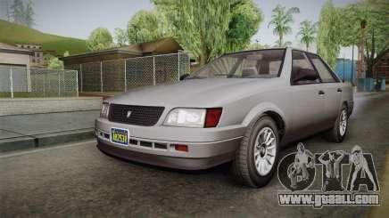 GTA 5 Vulcar Ingot Sedan IVF for GTA San Andreas