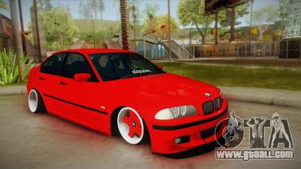 BMW M3 E46 Stance for GTA San Andreas