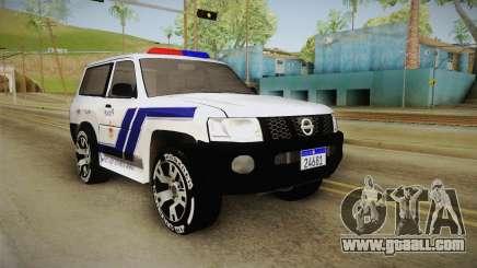 Nissan Patrol Y61 Police for GTA San Andreas