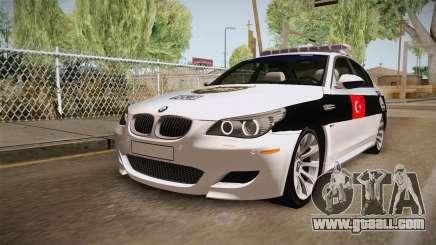 BMW M5 E60 Turkish Police for GTA San Andreas