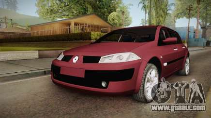 Renault Megane Hatchback v1.1 for GTA San Andreas