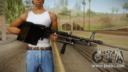 M60 Machine Gun for GTA San Andreas