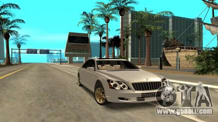 Maybach for GTA San Andreas