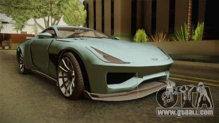 GTA 5 Dewbauchee Specter for GTA San Andreas