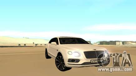 Bentley Bentyaga for GTA San Andreas