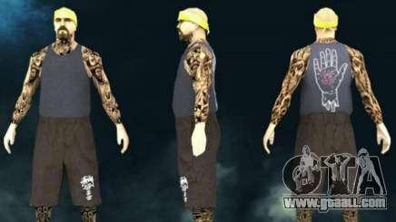 Private skin Vagos lsv3 for GTA San Andreas