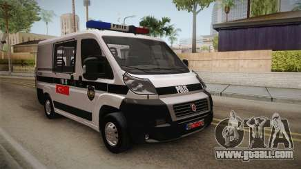Fiat Ducato Police for GTA San Andreas