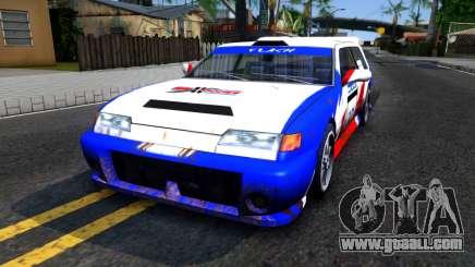 Flash Rally Paintjob for GTA San Andreas