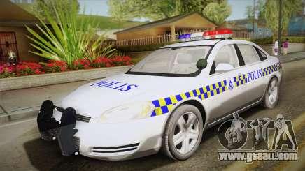 Chevrolet Impala Police Malaysia for GTA San Andreas
