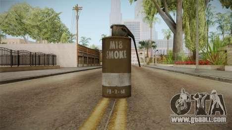Battlefield 4 - M18 for GTA San Andreas