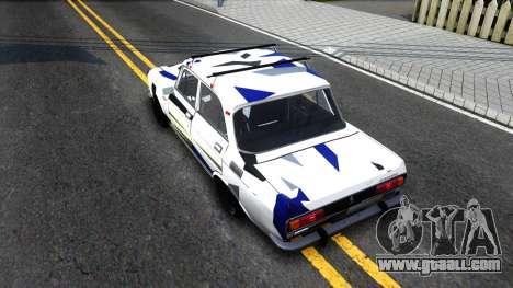 AZLK Moskvich 2140 RDM for GTA San Andreas back view