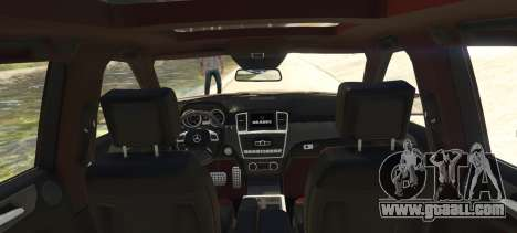 GTA 5 Brabus B63S Widestar rear left side view
