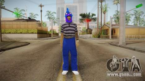 The bandit of the Aztec for GTA San Andreas second screenshot