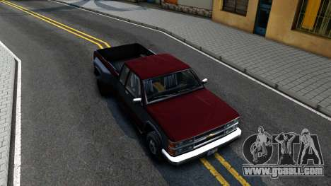 Chevrolet Silverado SA Style for GTA San Andreas right view
