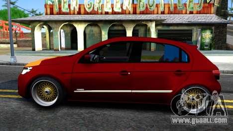 Volkswagen Gol G5 for GTA San Andreas left view