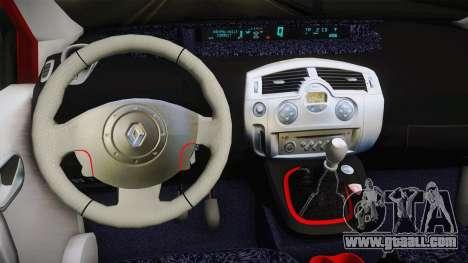 Renault Scenic Mk2 Crveni Taxi for GTA San Andreas inner view