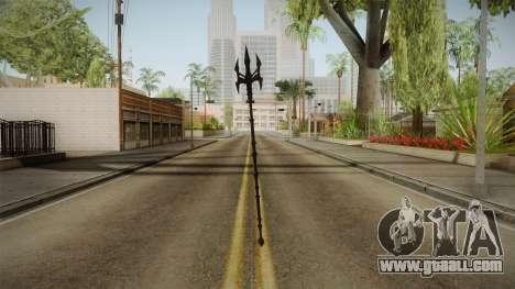 Injustice: Gods Among Us - Aquaman Trident for GTA San Andreas second screenshot
