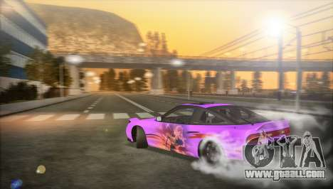 Nissan 240SX 1994 for GTA San Andreas right view